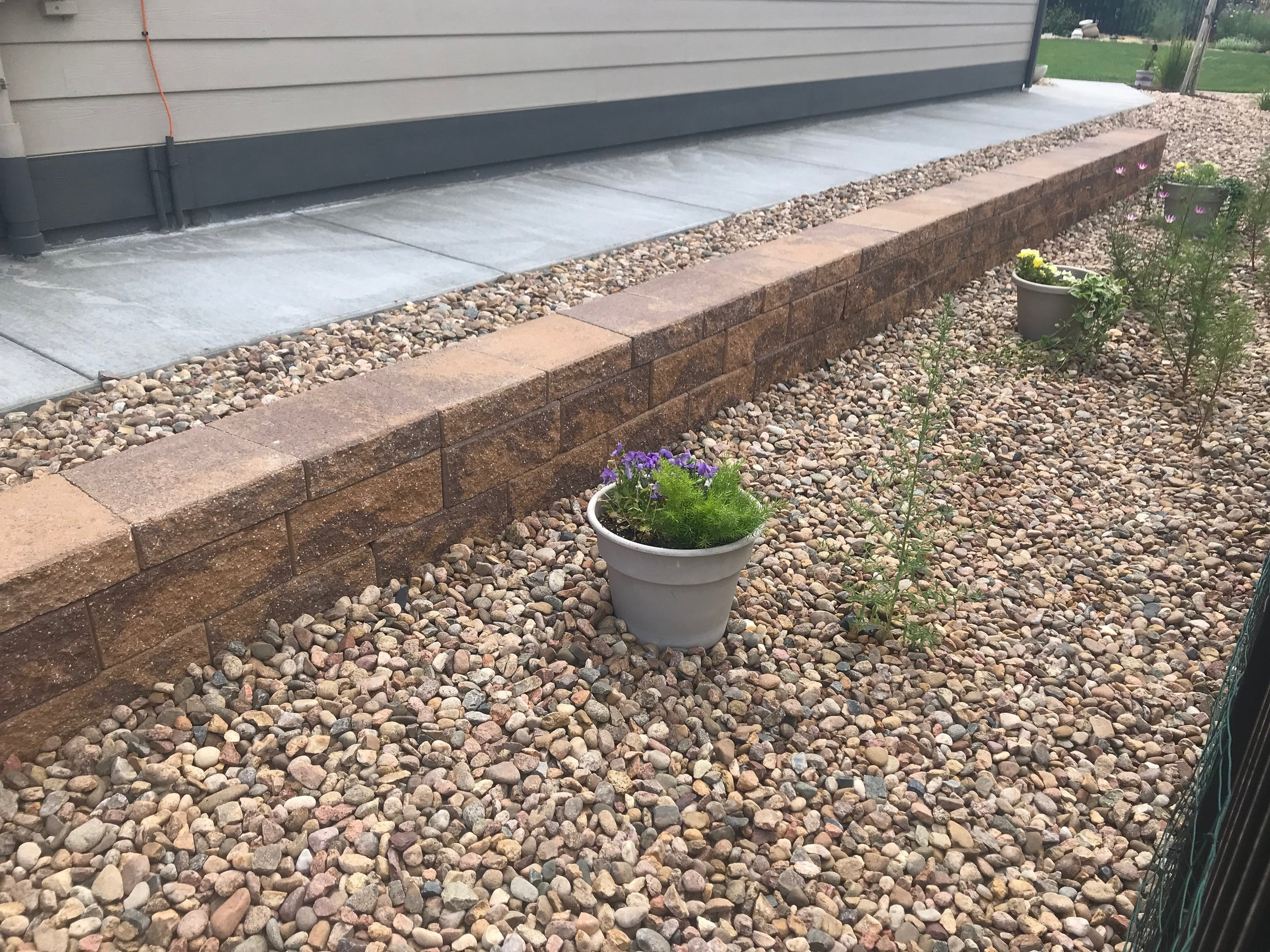 Retaining Wall - August 2019