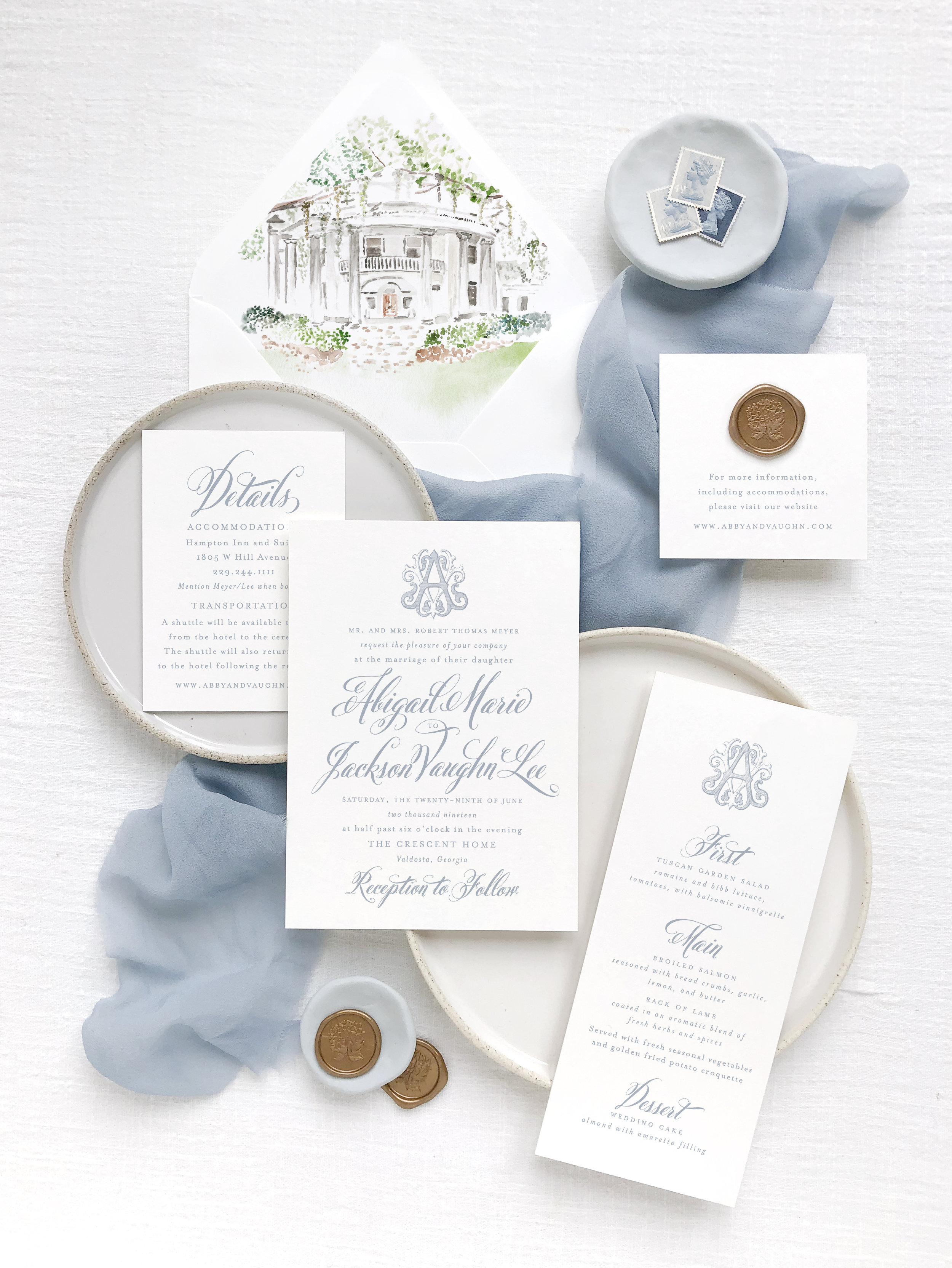 Empress Stationery  |  How to Develop a Semi-Custom Stationery Collection