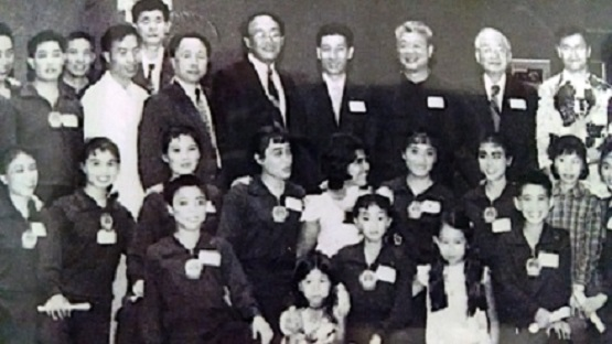 The famous 1974 National Wushu Team that toured the world. Grandmaster Cheng is in the second row, second from left. Jet Li is in the front row, far right.