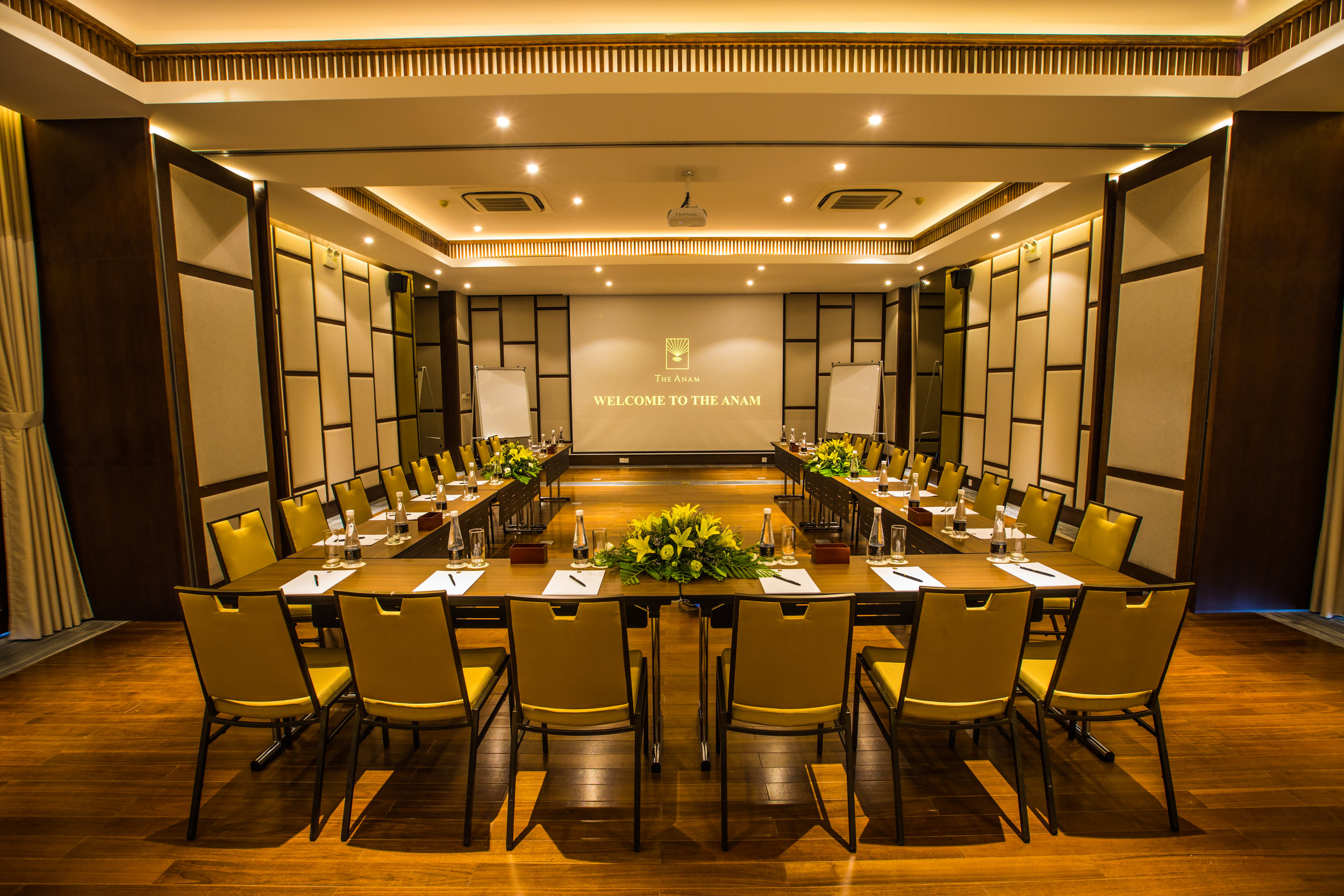 Meet in Style - The Anam's indoor meeting rooms offer state-of-the-art facilities and equipment while outdoor locations offer attendees the chance to kick off their shoes and get creative with the sound of the waves as inspiration.
