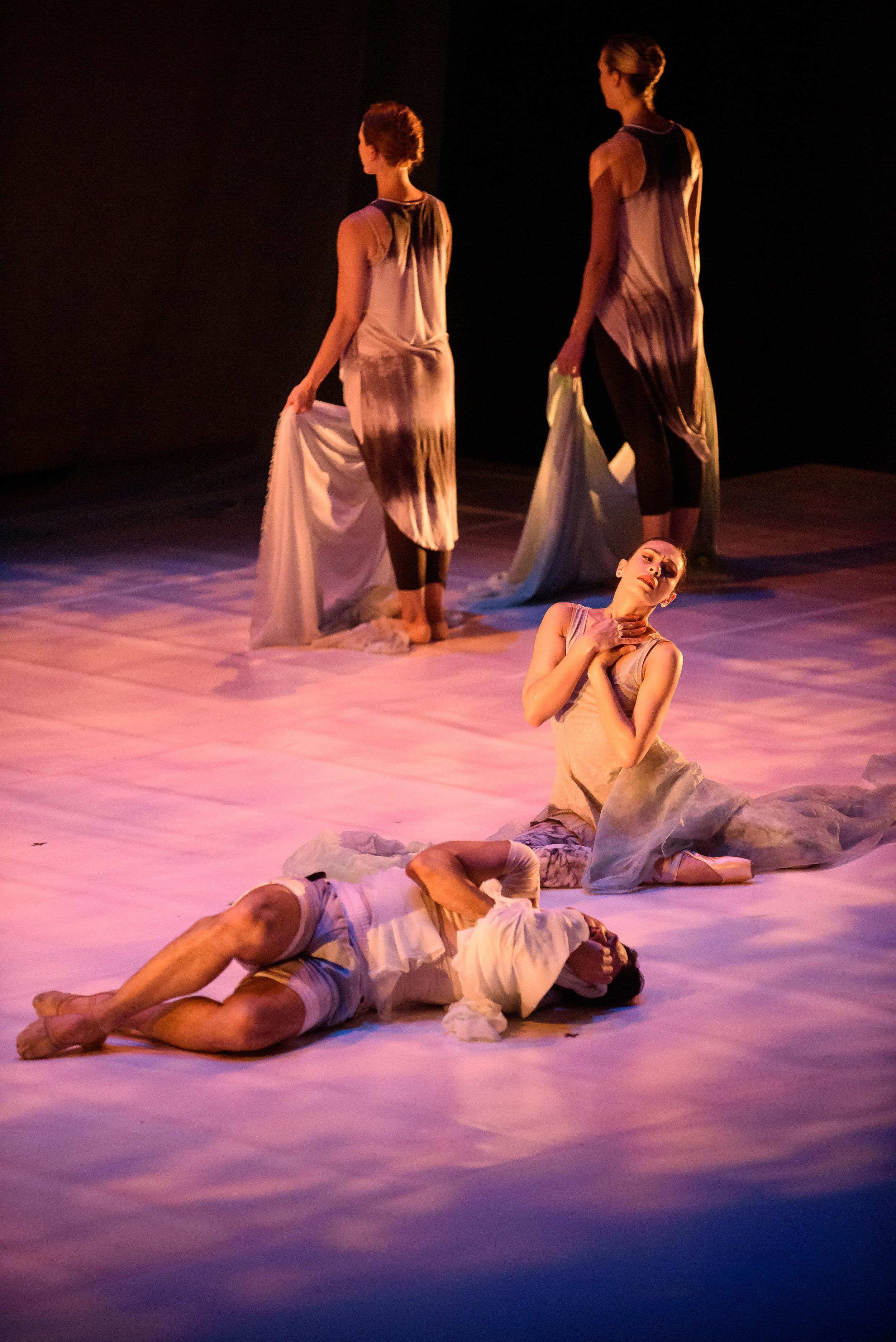 Company Dancers; Diego Sosa, and Giovanna Montoya.