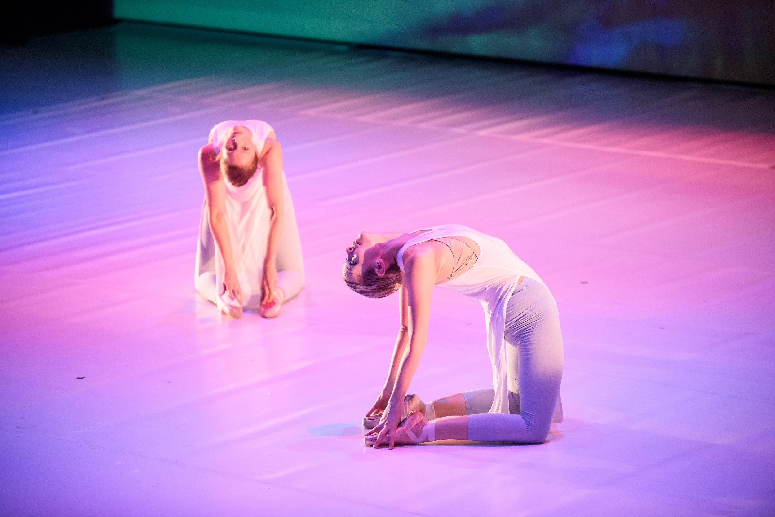 Company Dancers: Etta Hulcher, and Carrie Denyer.