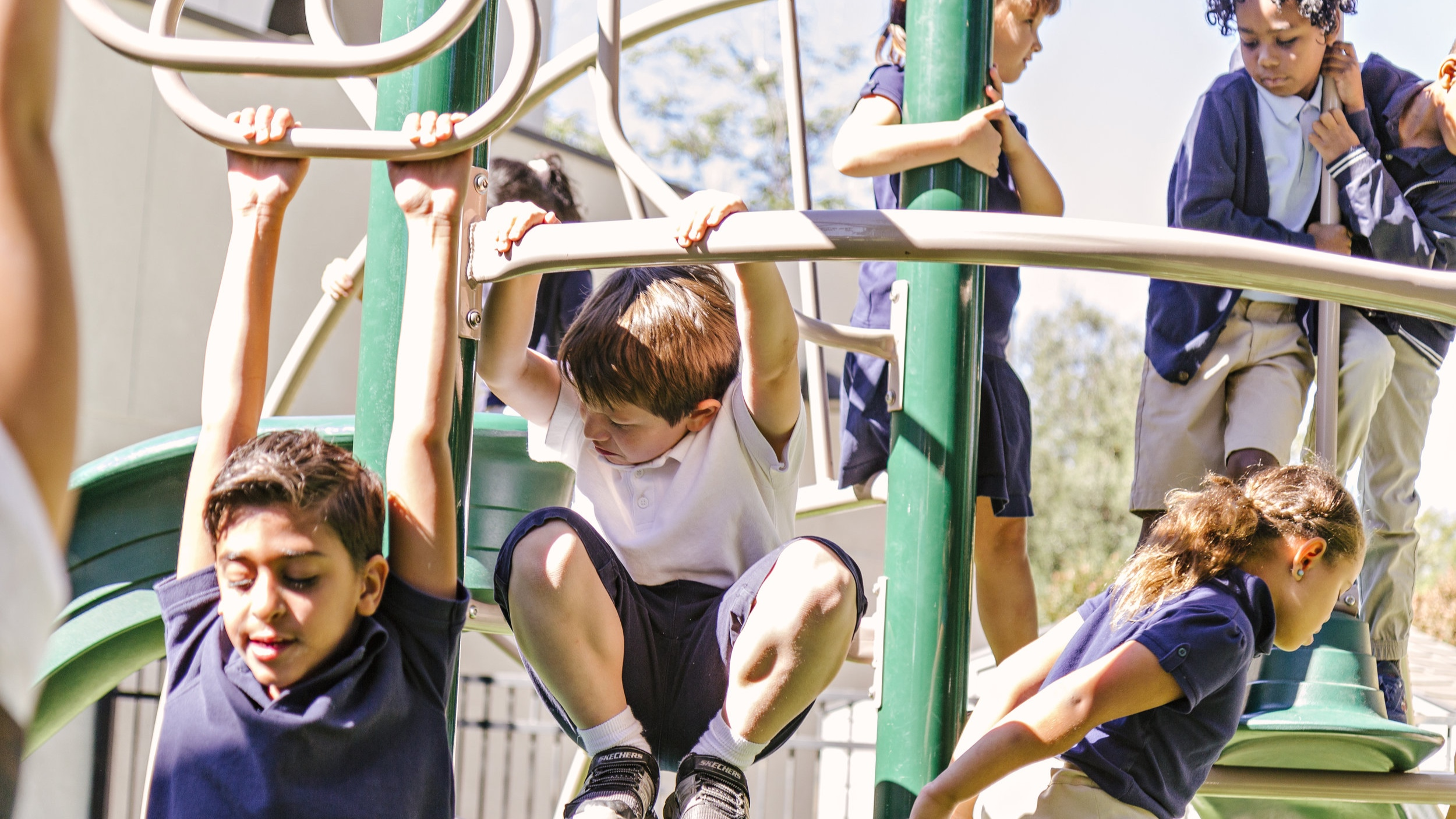 Physical Education - We have a weekly physical education class because we know the importance of keeping students fit at an early age.