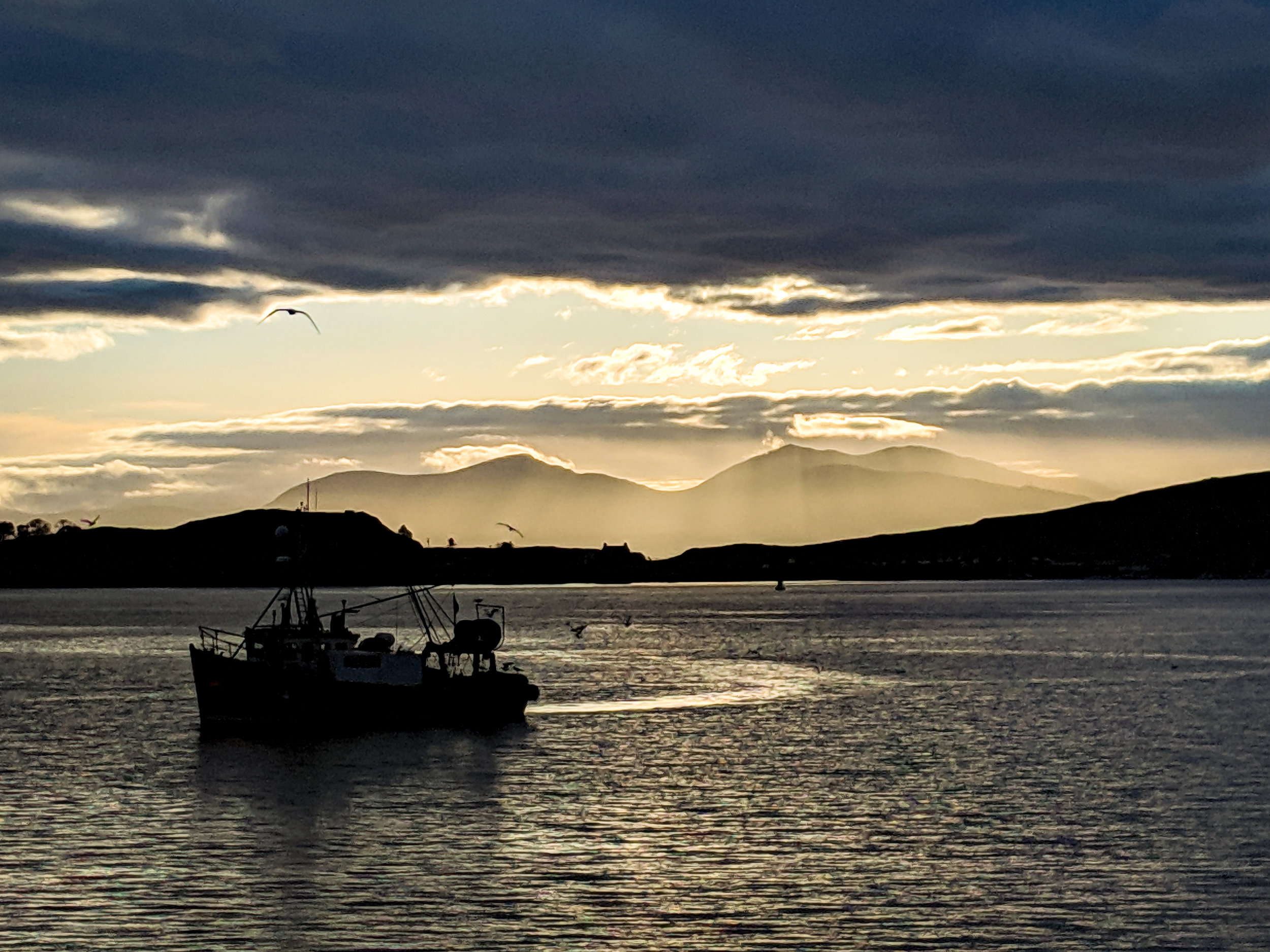 View from Oban, taken on a trip in Vandalf last Saturday.