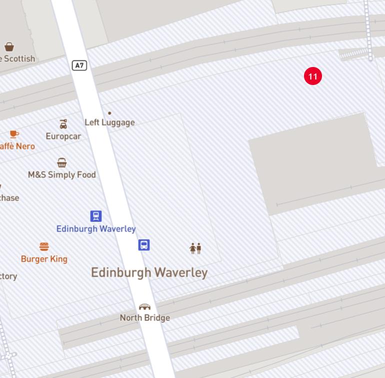 Waverley Station's Station Location