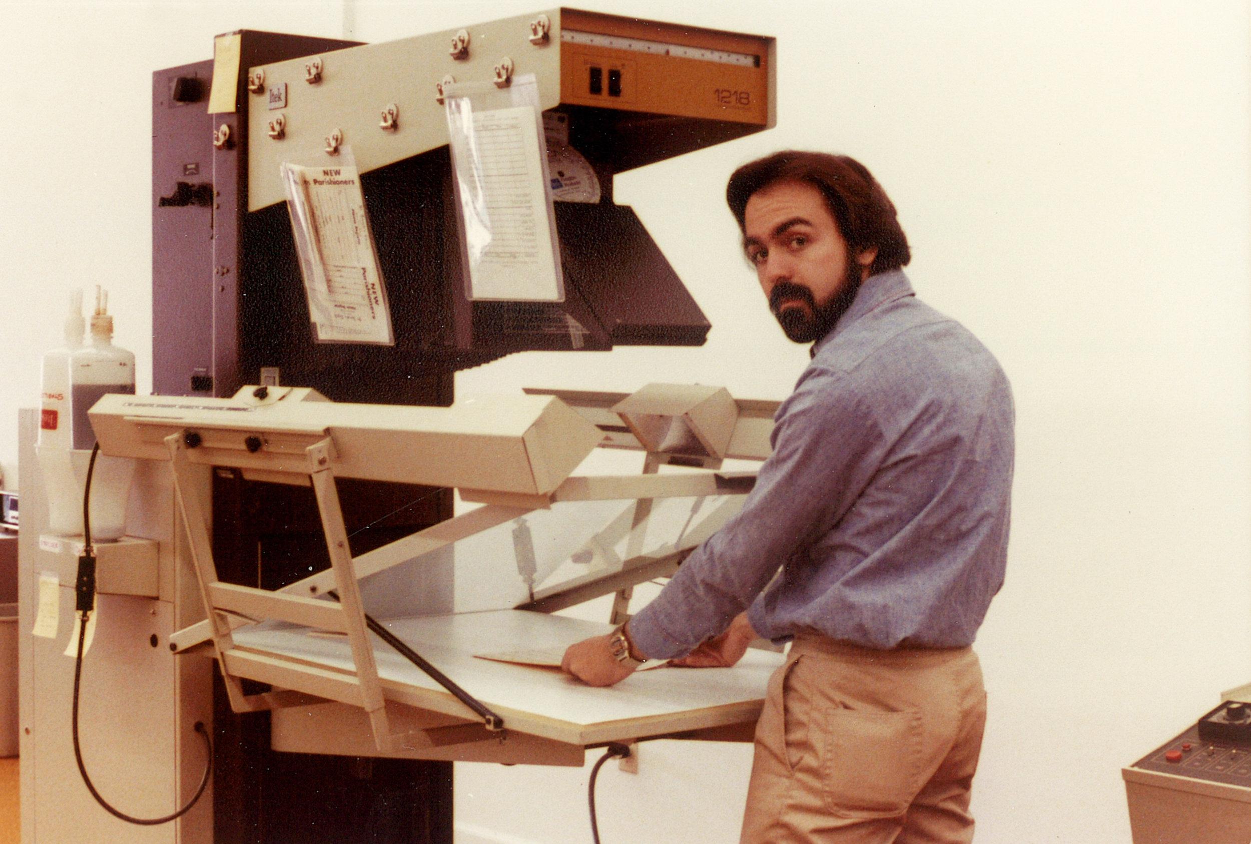 Roger LaPointe circa 1979