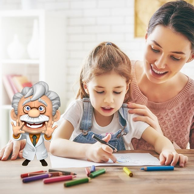 Dive into the magical world of Professor Maxwell's instead of the monotonous coloring books for a change. 🔬 🙌  Did you know: The use of educational toys can help children learn many different skills they will need in their life such as problem-solving and learning cause and effect.