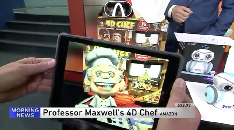 WGN Chicago - 4D Chef on the morning news in Chicago!