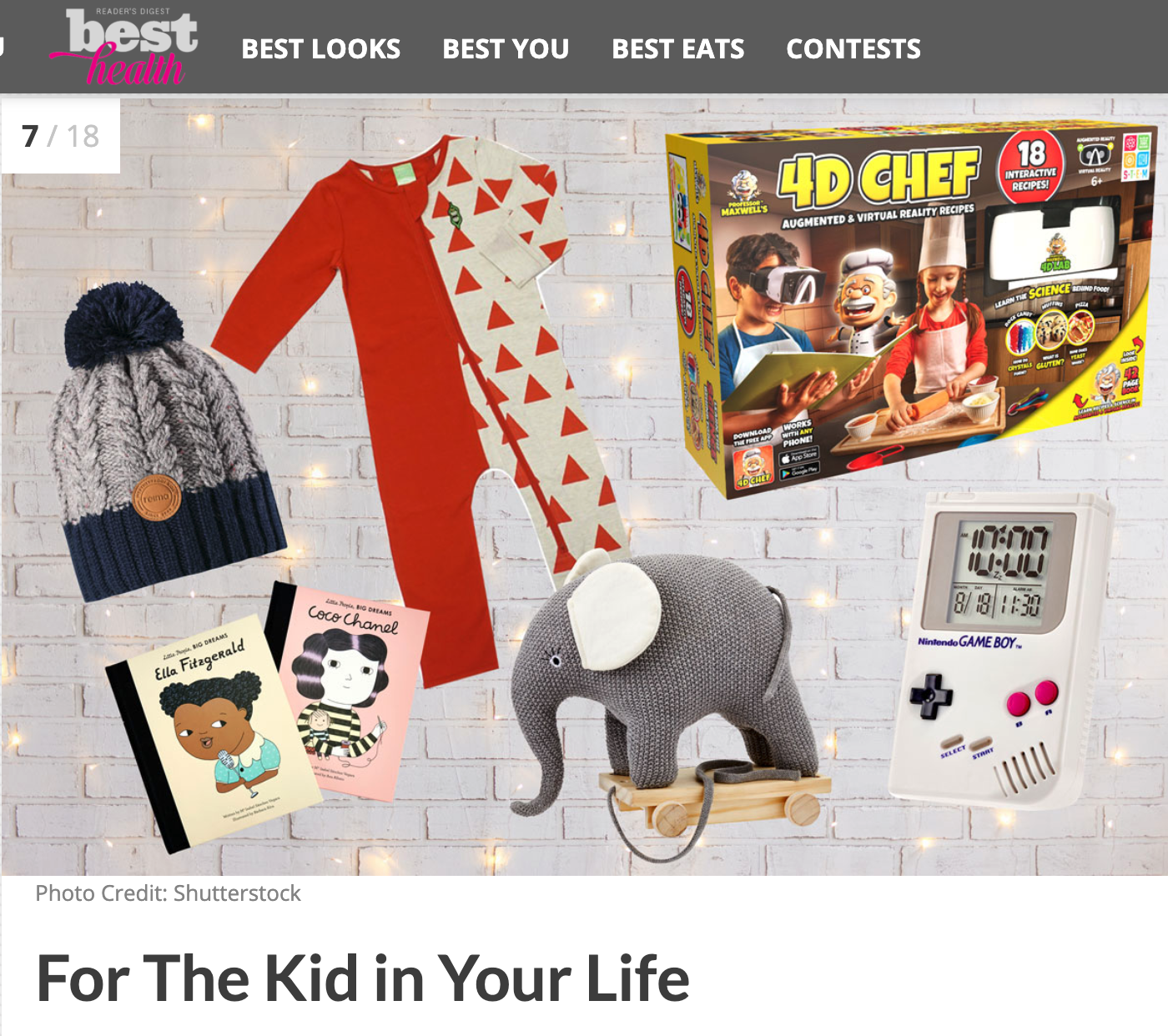 Best Health Magazine - 100+ Under $100: Gifts For Absolutely Everyone on Your List: For the Kids in Your Life.