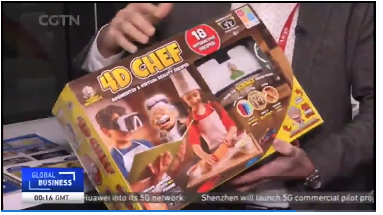 Global Business - Toy Fair 2019, 4D Chef featured on Global Business
