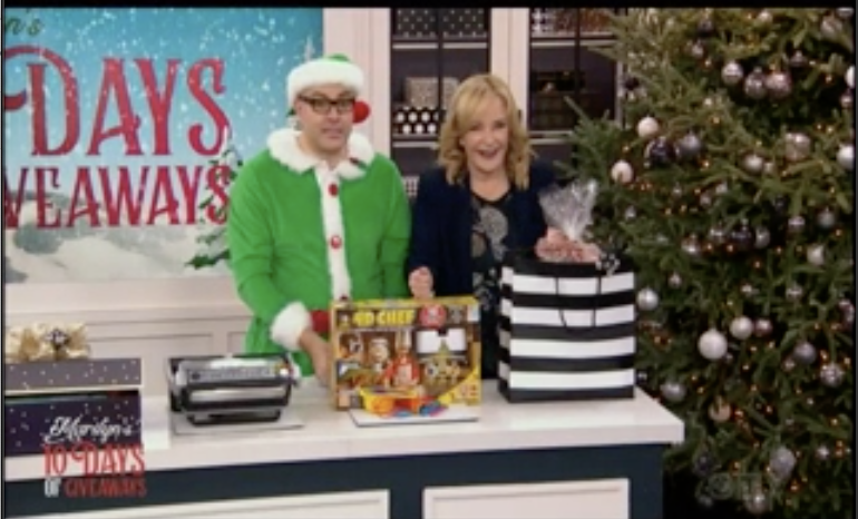 Marilyn Denis Show - 4D Chef featured on CTV's Marilyn Denis 10 Days of Giveaways segment.