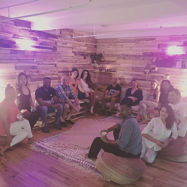 ⚡️FREQUENCY NYC CLASS PHOTO 006⚡️ 8/16/19  Transformational and groundbreaking breathwork with tonight's class! We left more connected to our own bodies and to each other. #wearefrequency  #frequencyrising #breathwork #immersiveexperience #artandwellness #fridaynight #transformation #love #highvibes #highfrequency