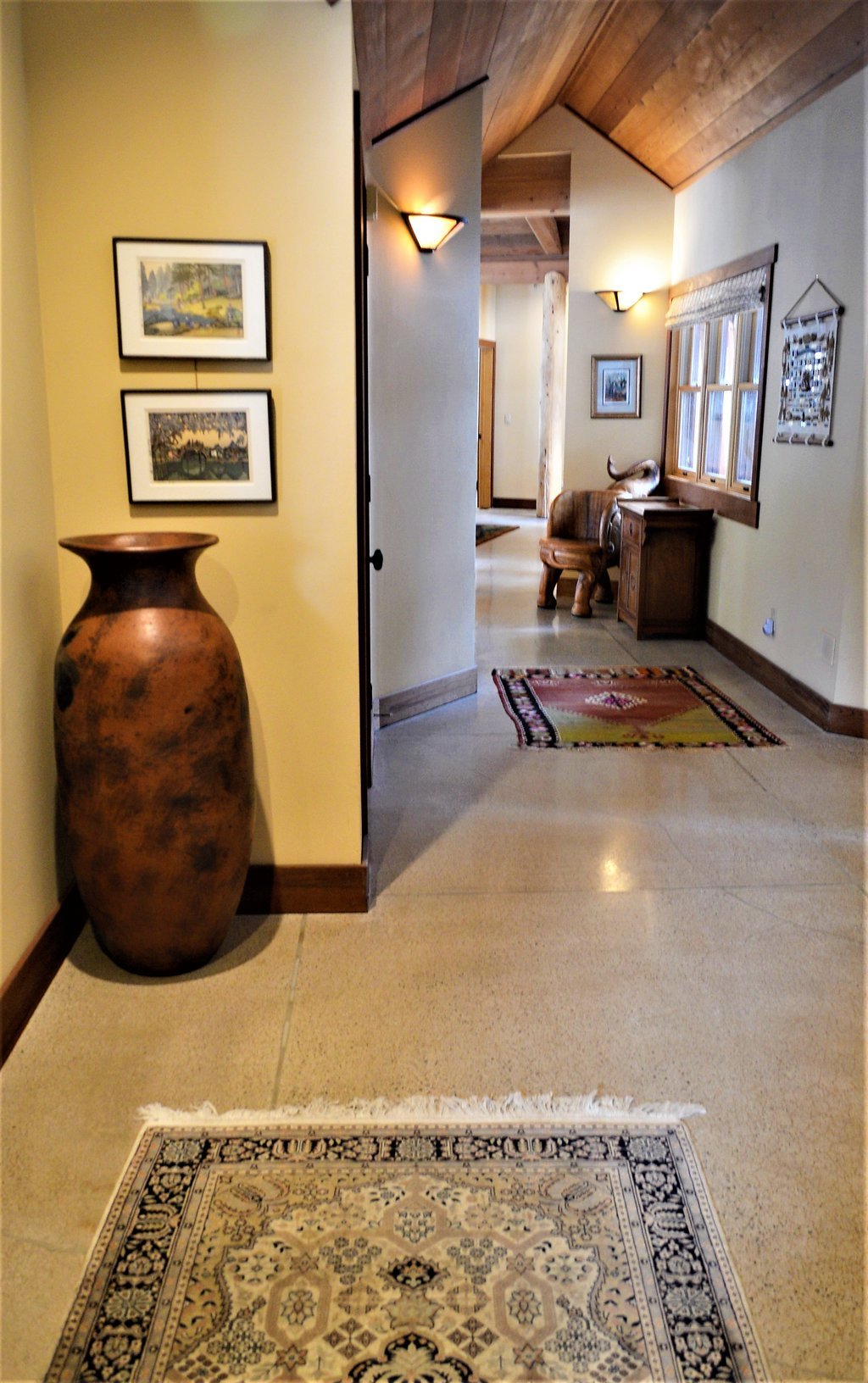 Polished Floor Hallway