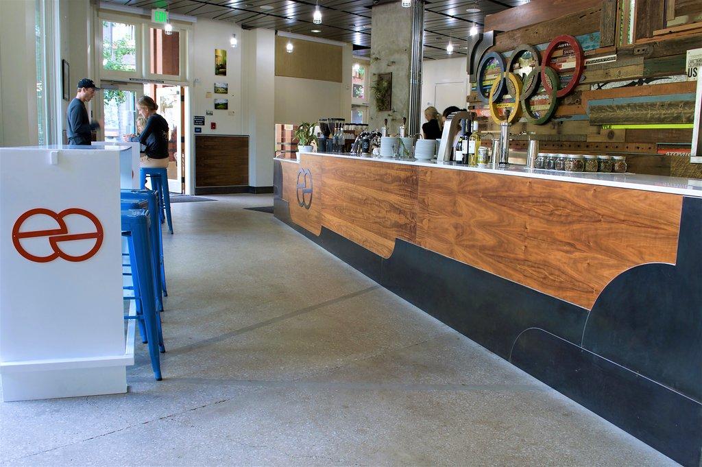 Coffee Bar Squaw Valley Polished Floor