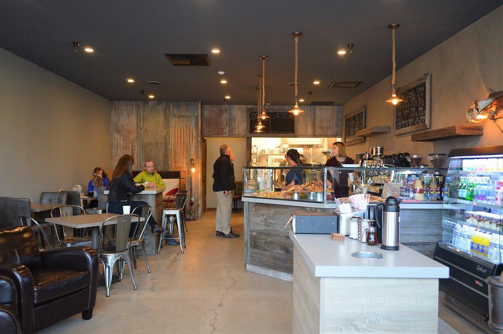 Zuri Coffee Entrance Polished Floor