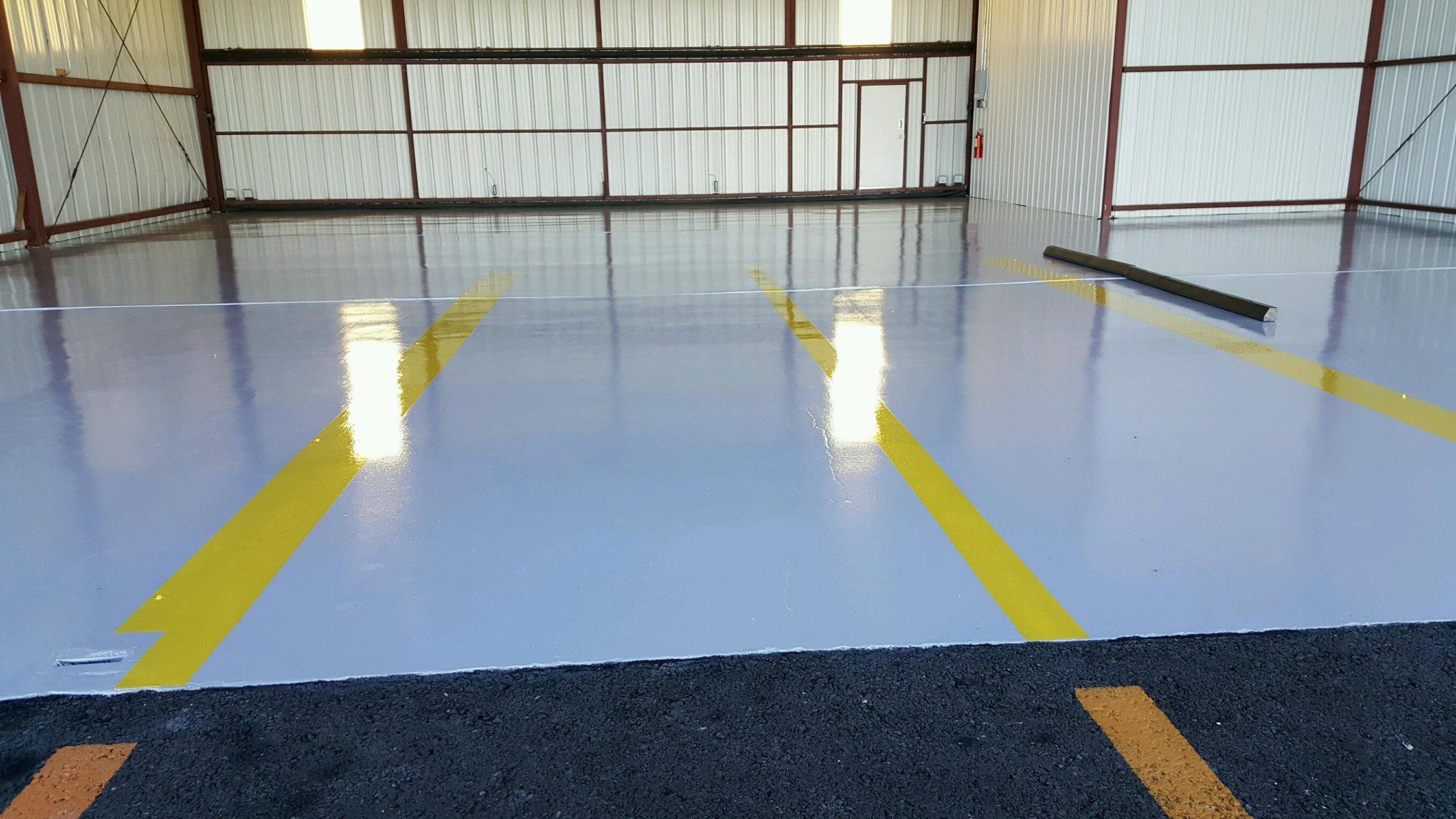 Solid Epoxy Industrial Floor