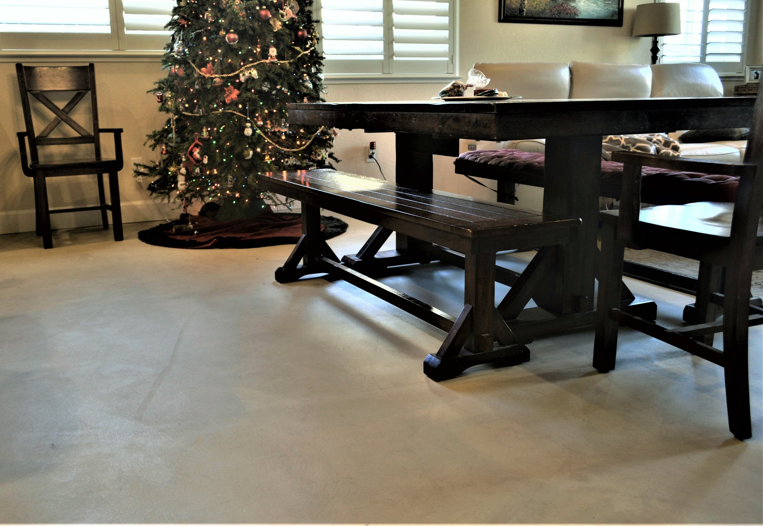 Microtopping Dining Room