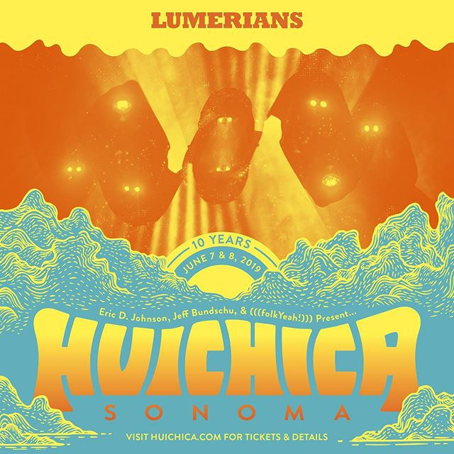 Get ready for the @lumerians to illuminate your Saturday night at Huichica Sonoma this weekend! You can find them in the barn after dark for what will be one blazin' show. Single day tickets still available on our website! 💡 . . . #Huichica #GunBunWine #FolkYeahEvents #musicfestival #winefest #localfood #livemusic #lineup #familyfriendly #folkyeah #singledaytickets #festivallineup #winecountry