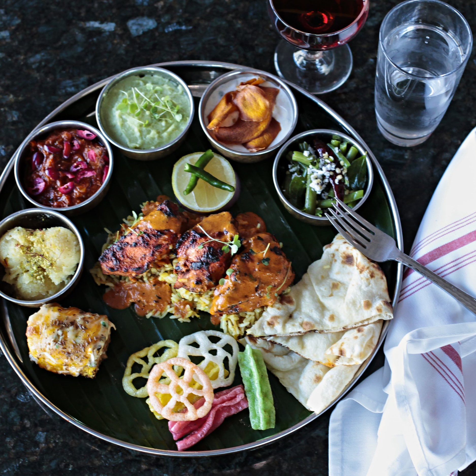 - Indian Cuisine with Southern Flare