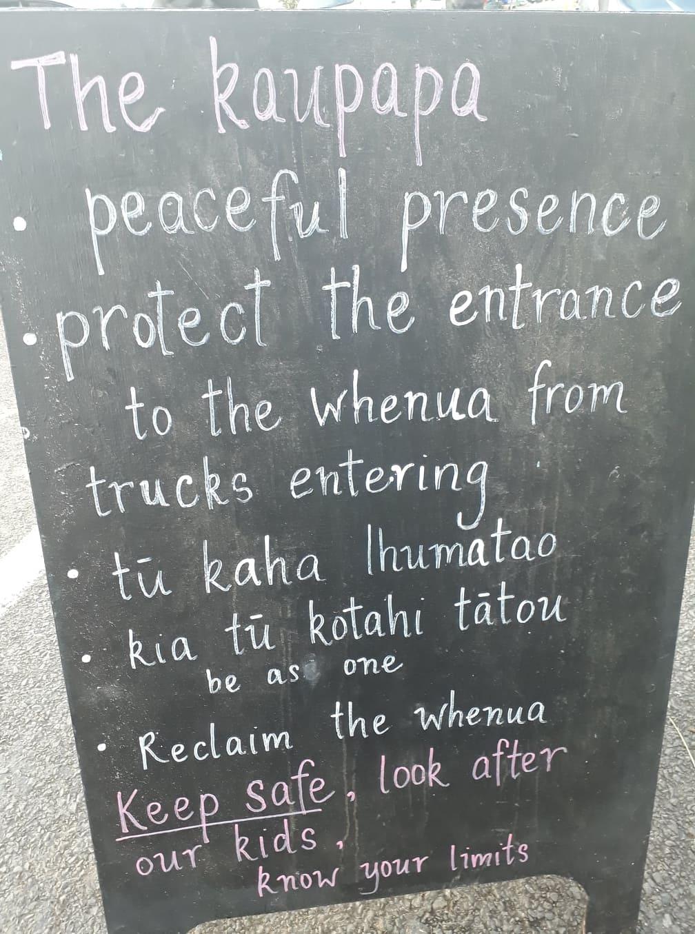 The Kaupapa.