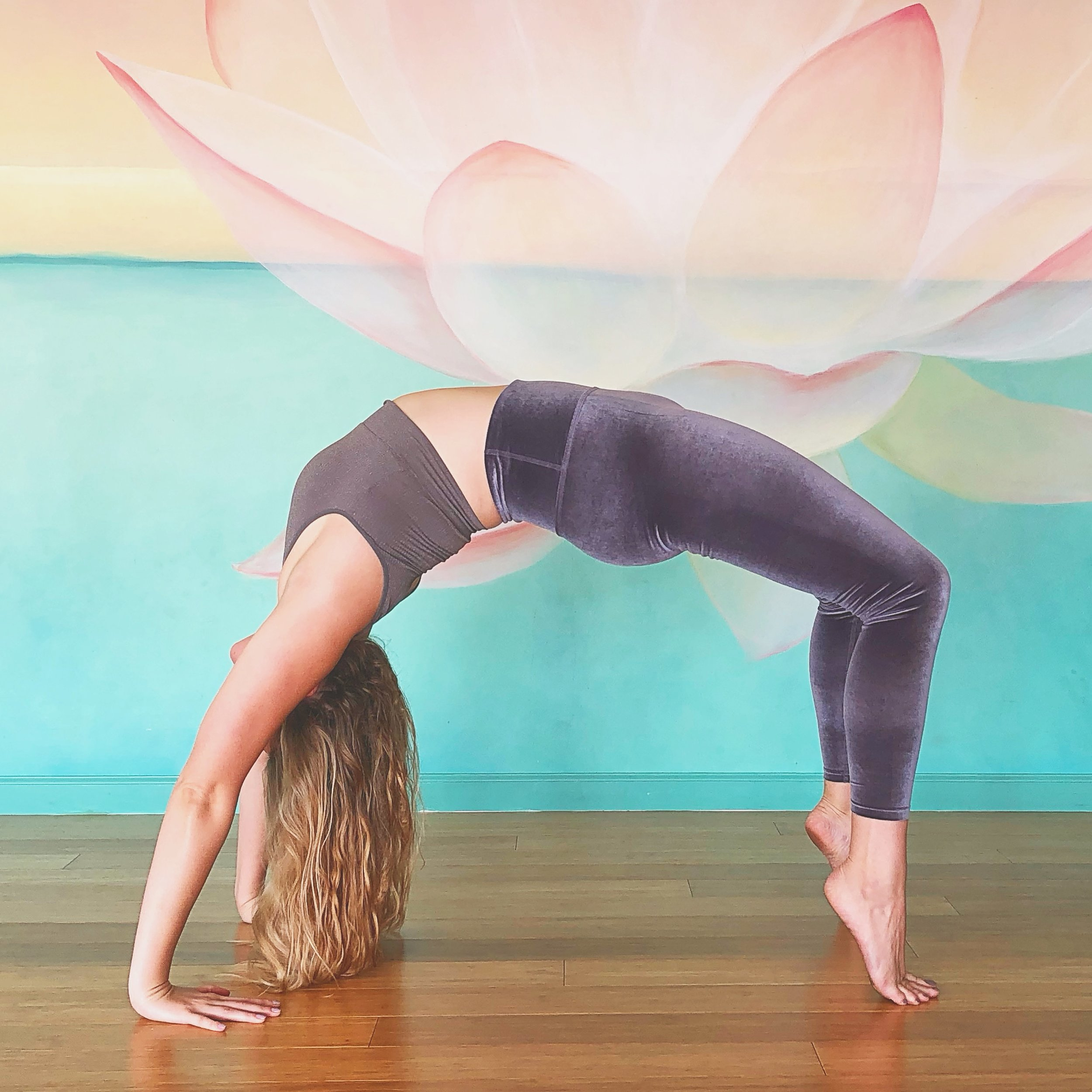 """Wheel Pose is considered a """"heart-opener""""."""