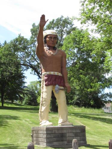 Chief Wenonga, Battle Lake, MN