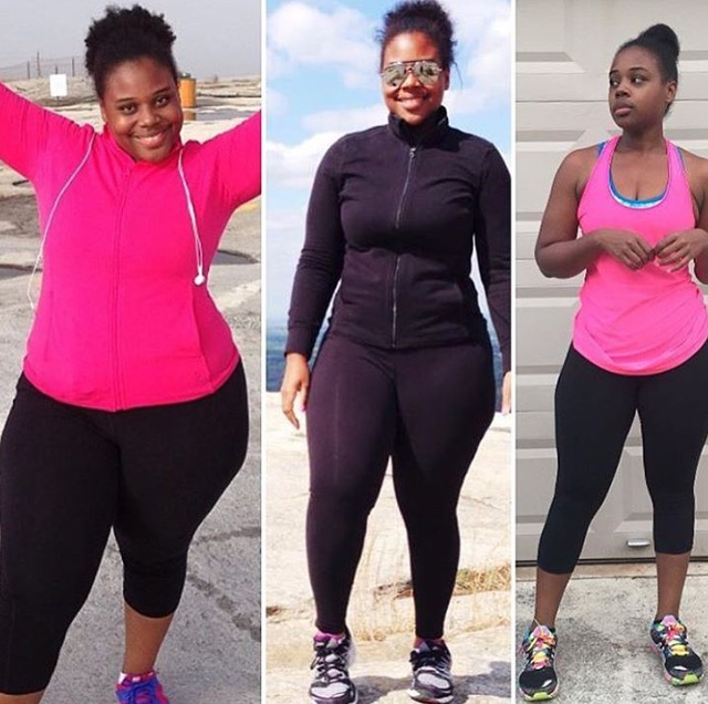 One of my biggest weight loss inspirations, Lakeitha Duncan!