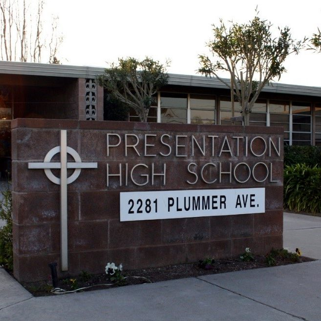 Presentation High School   2281 Plummer Ave., San Jose, CA 95125  408-264-1664   Learn More