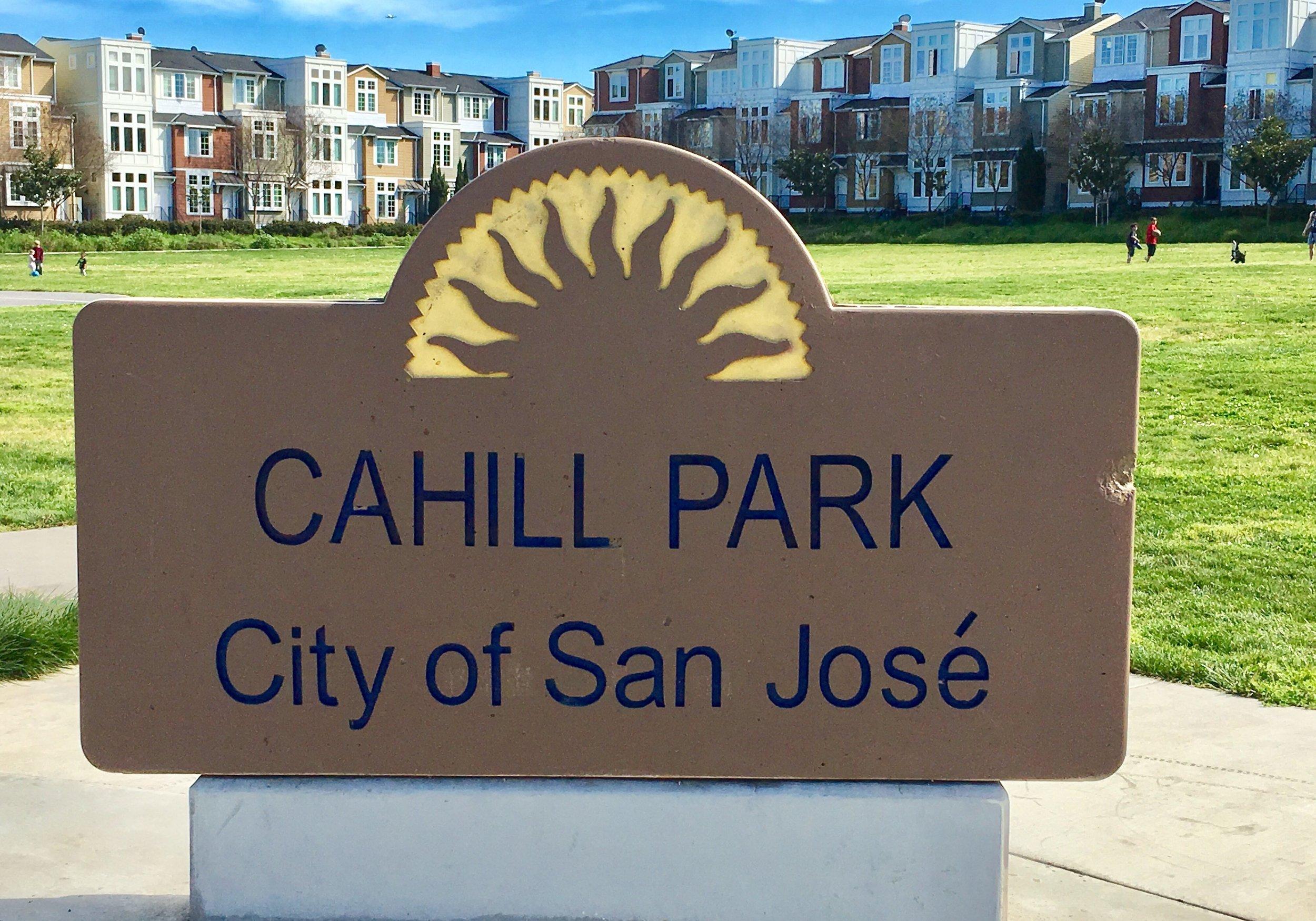 Cahill Park  W. San Fernando St. Wilson Ave.  San Jose, CA 95126   Información Adicional