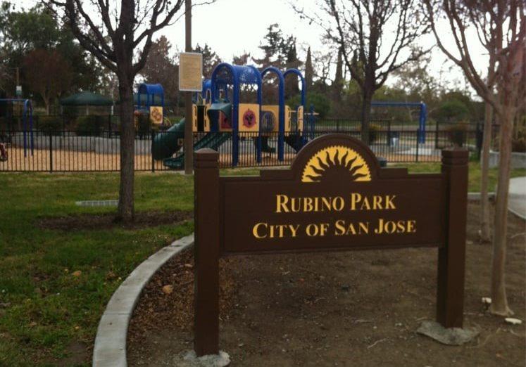 Rubino Park   Desmet Drive & Desmet Lane  San Jose, CA 95125   Información Adicional