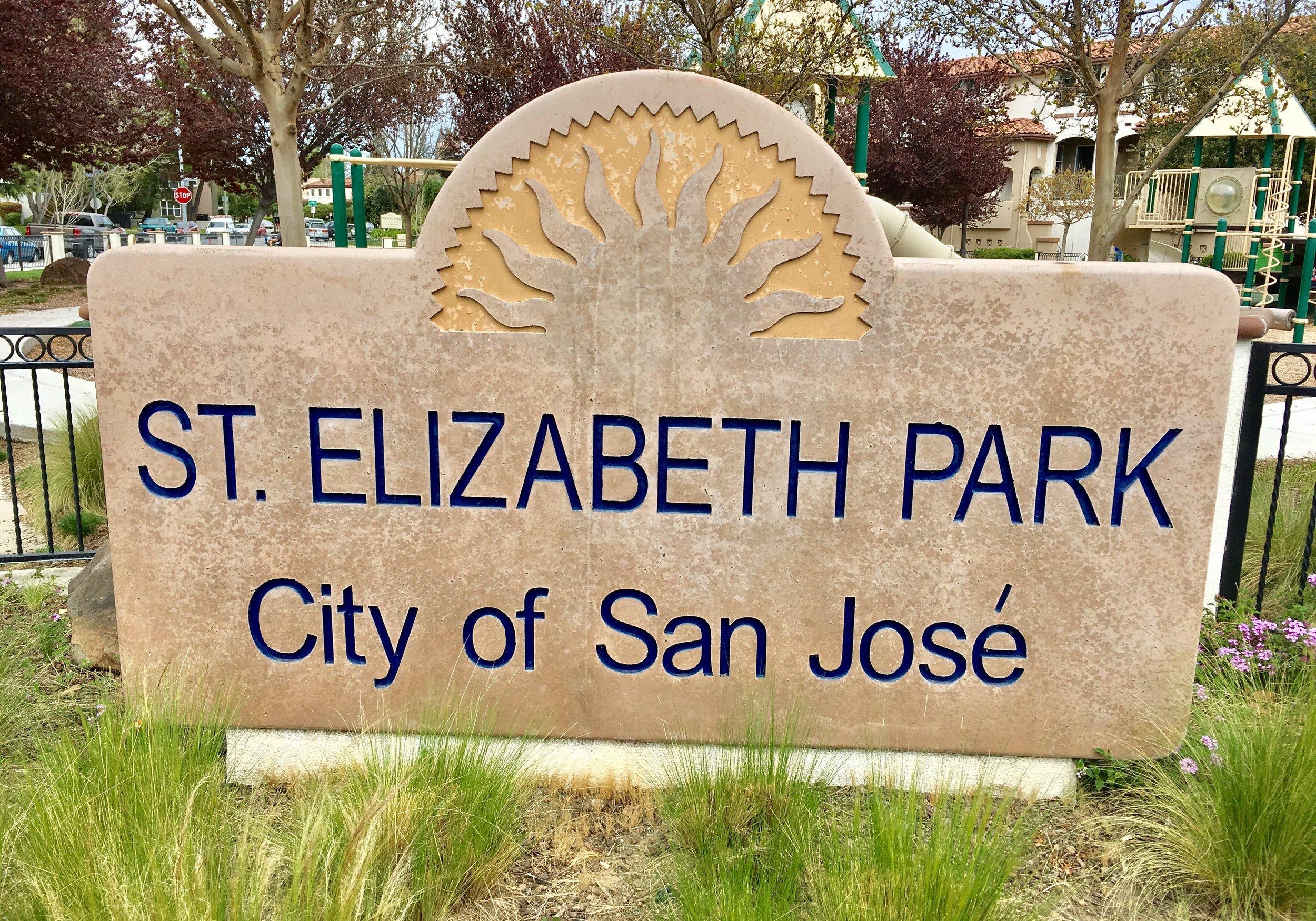 St. Elizabeth Park   Curci Drive & Elizabeth Drive  San Jose, CA 95126   Información Adicional