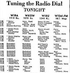 Newspaper Radio Guide 1964