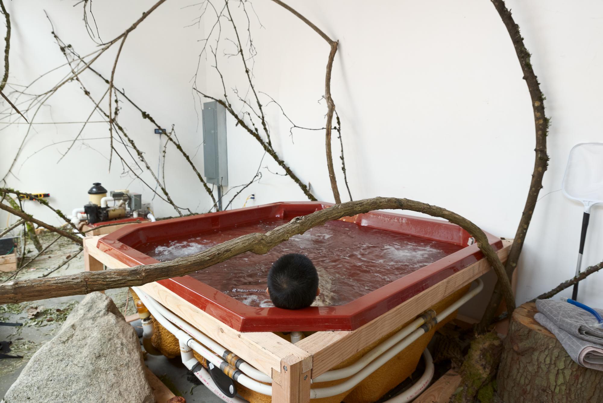 Subwoofer Hot Tub 24