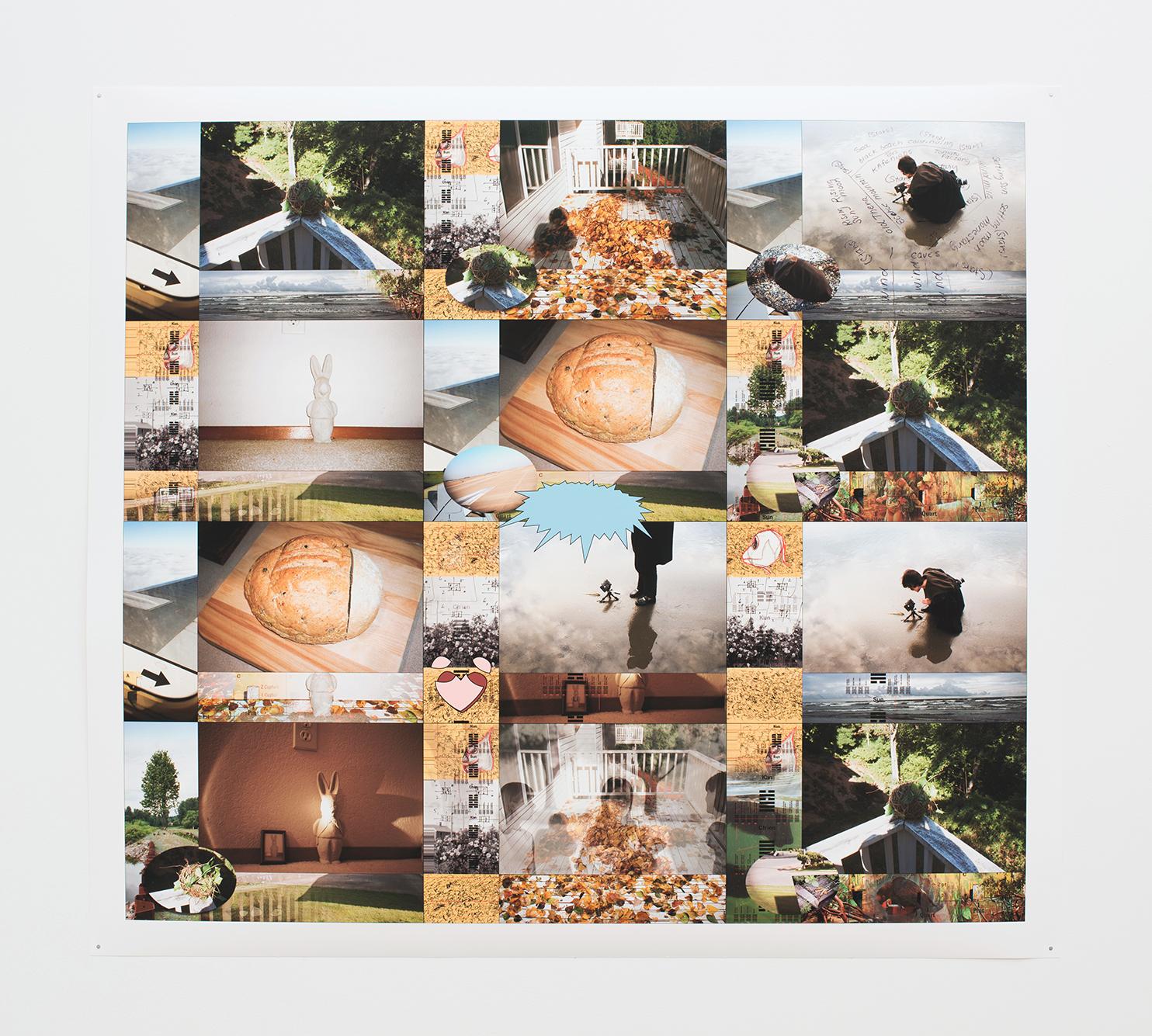 Paul Berger  BREAD , 2000-2005 Inkjet on paper
