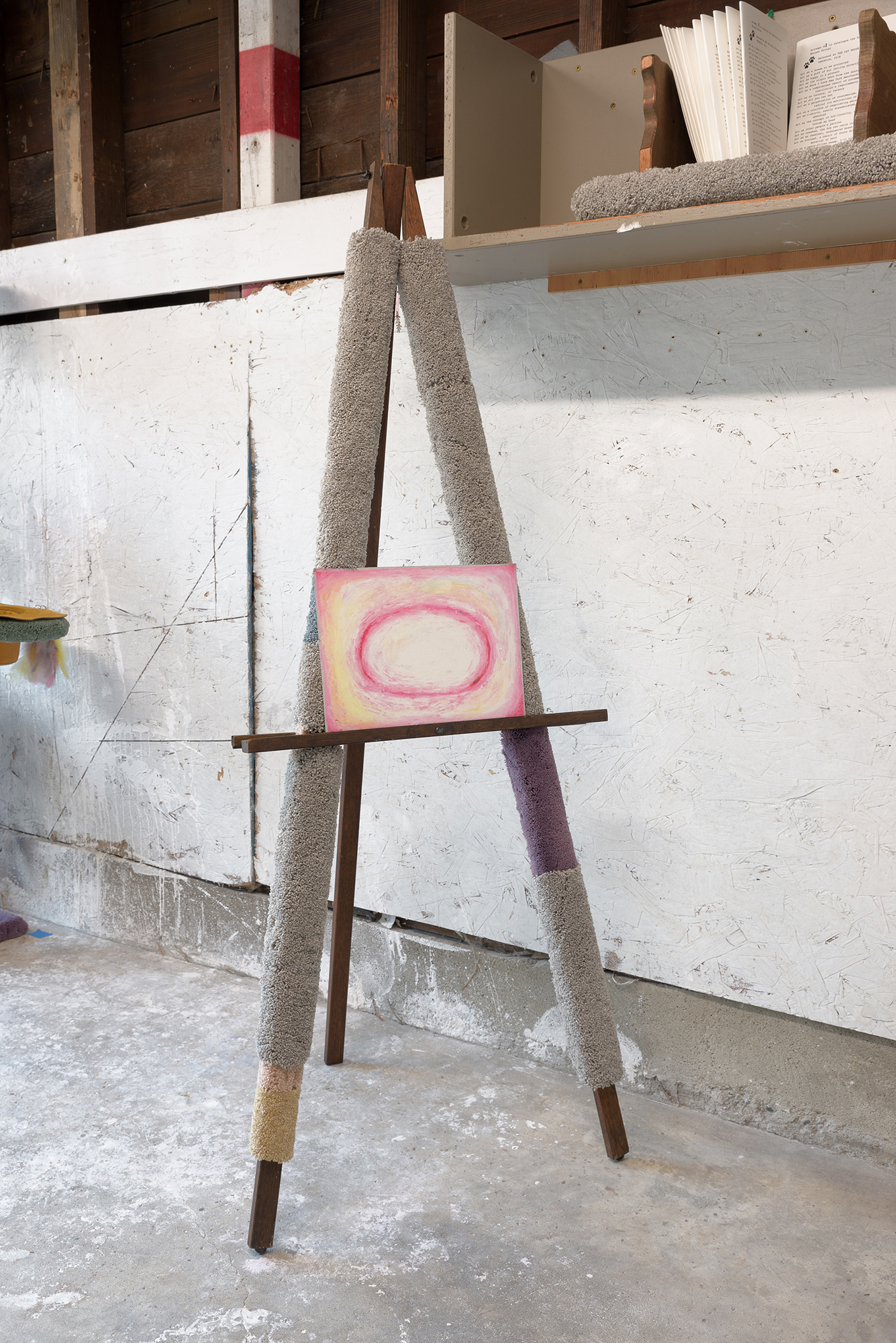 Workshop Easel with Energy Drawing