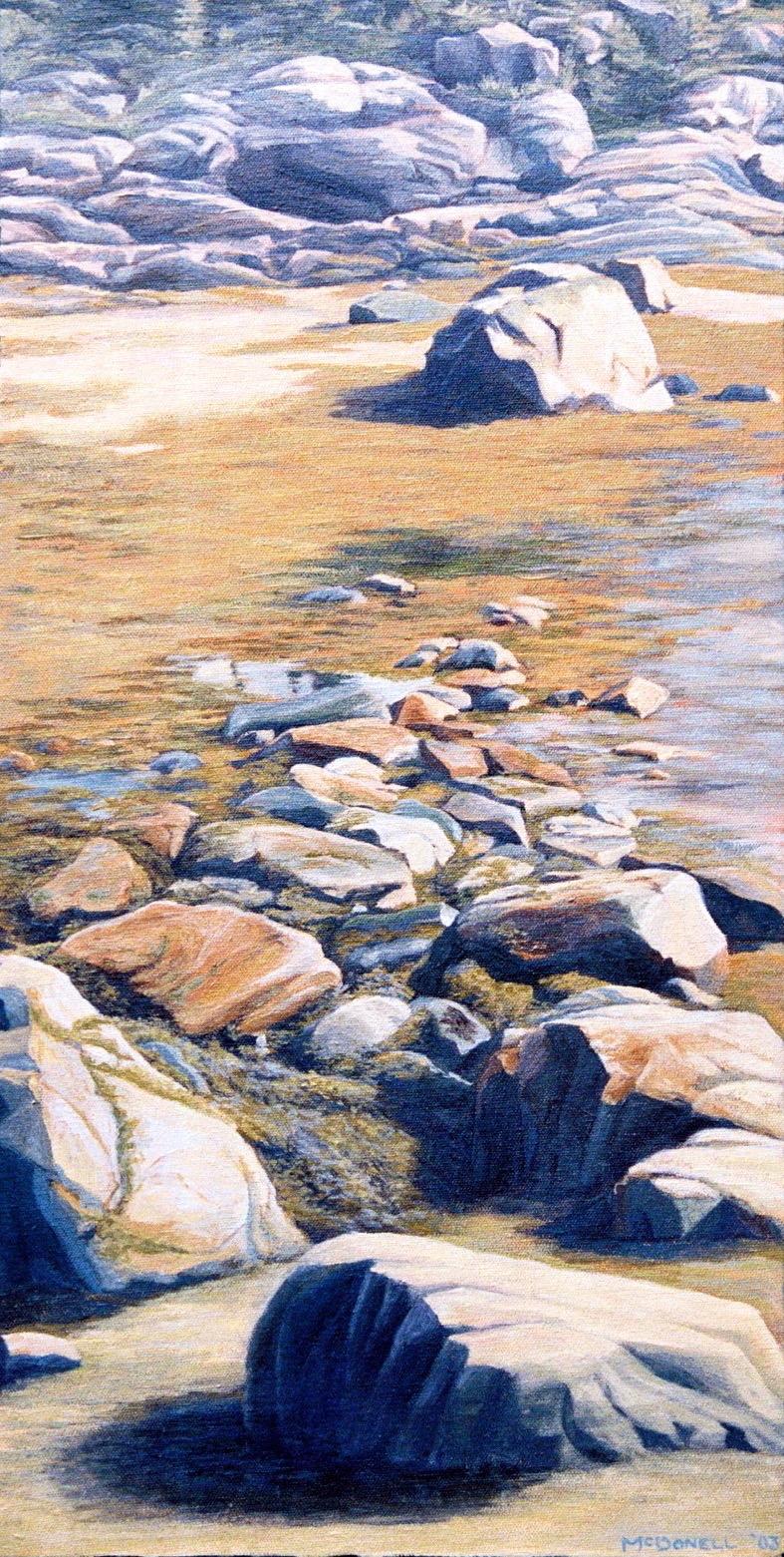 'Beach Rocks at Les Escoumins'