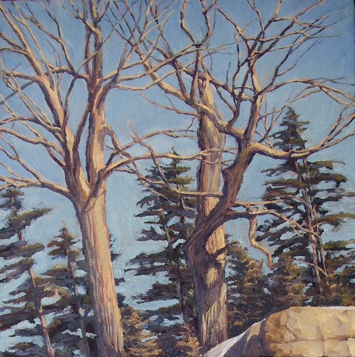 East of Kingston (Top of diptych)