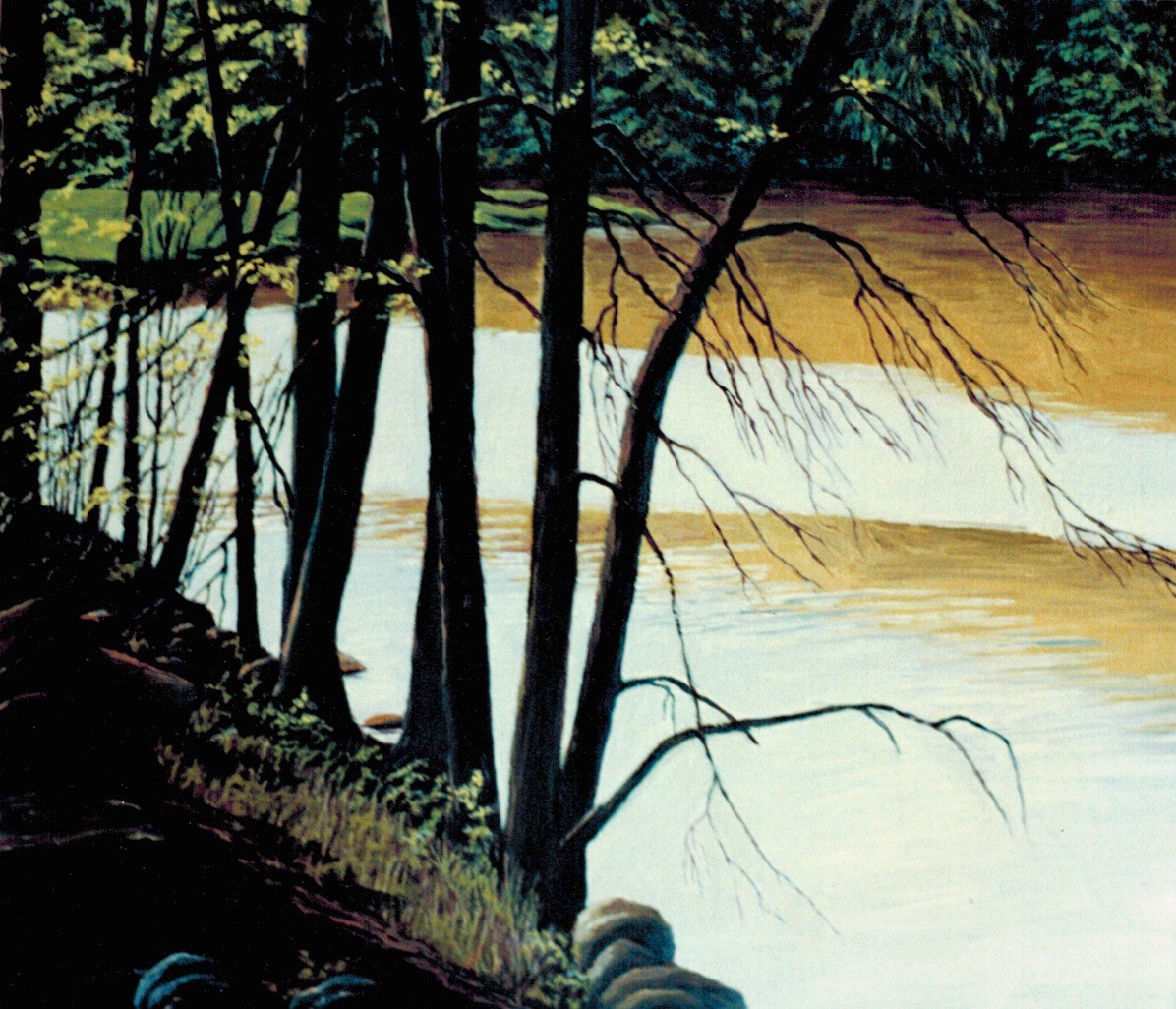The banks of the Beaudette