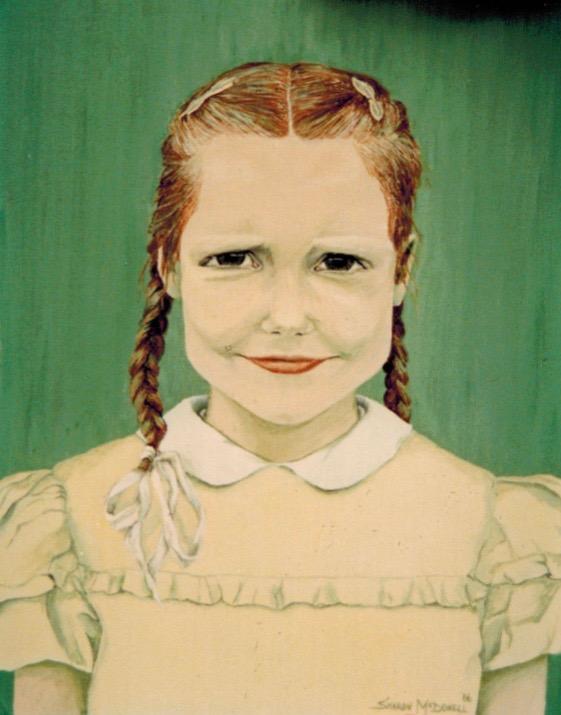 Clara Penstock as a Girl