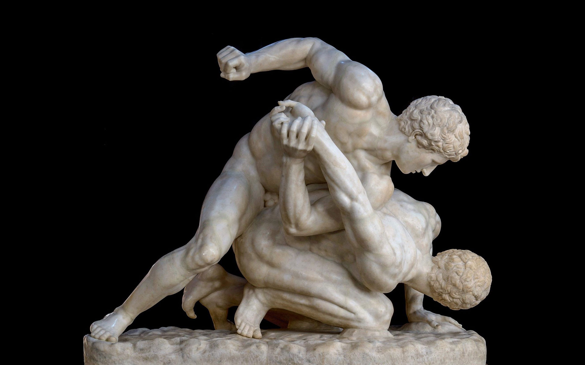 Pankration: Violence, Glory and Death at the Ancient Olympic Games — The  Unpolished Historical Journal