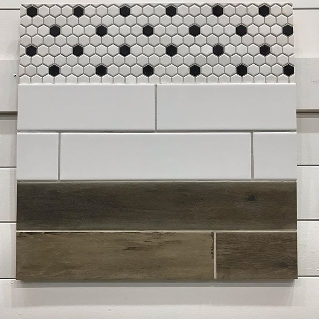 I'm so excited about these tile design boards. What do you guys think?? #tileboards #tileshower #tilefloor #bathroomremodel #bathroomtile