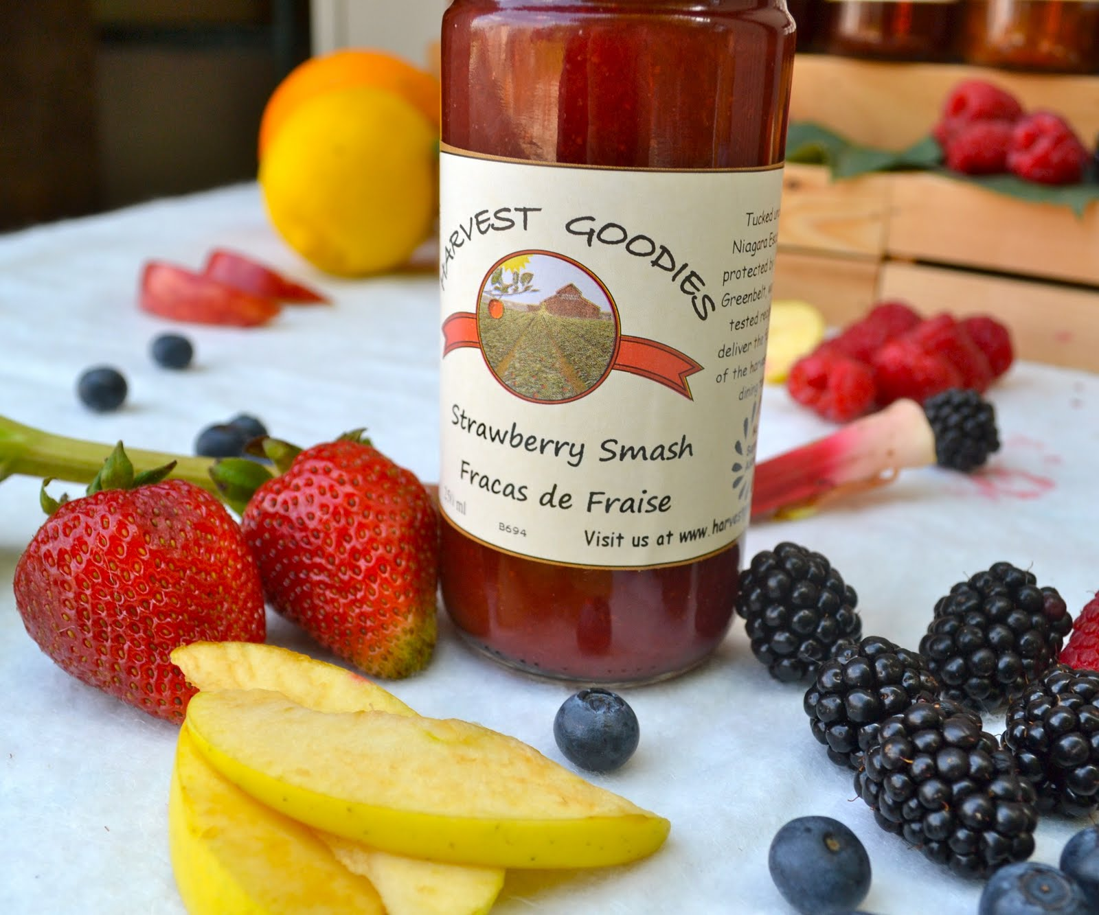 No Sugar Added Jams - - Blackberry Apple Blush- Bumbleberry Blast- Strawberry Smash