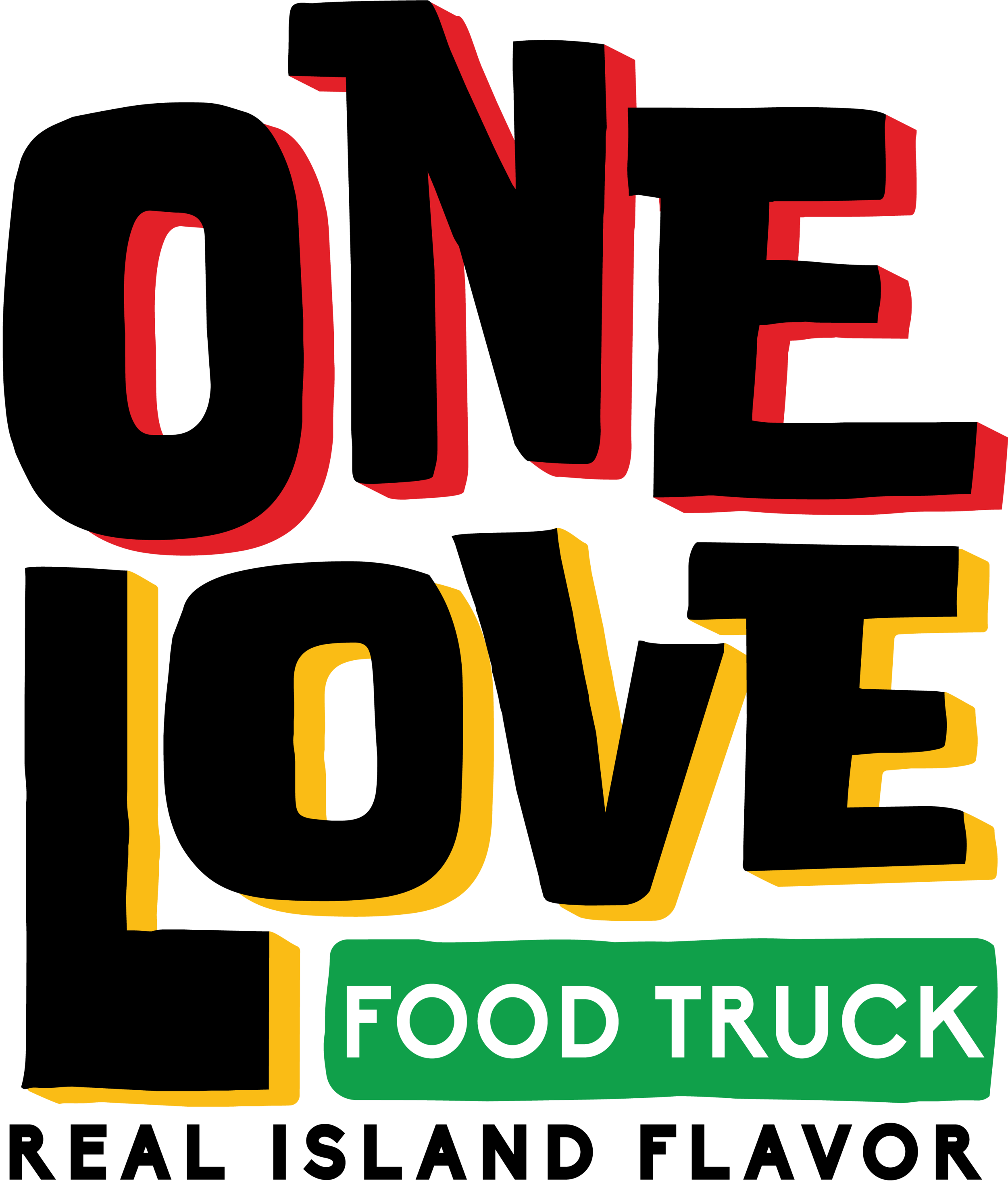 One Love Food Truck in Stock Island Florida. Real Island Flavor, Authentic Jamaican spices.