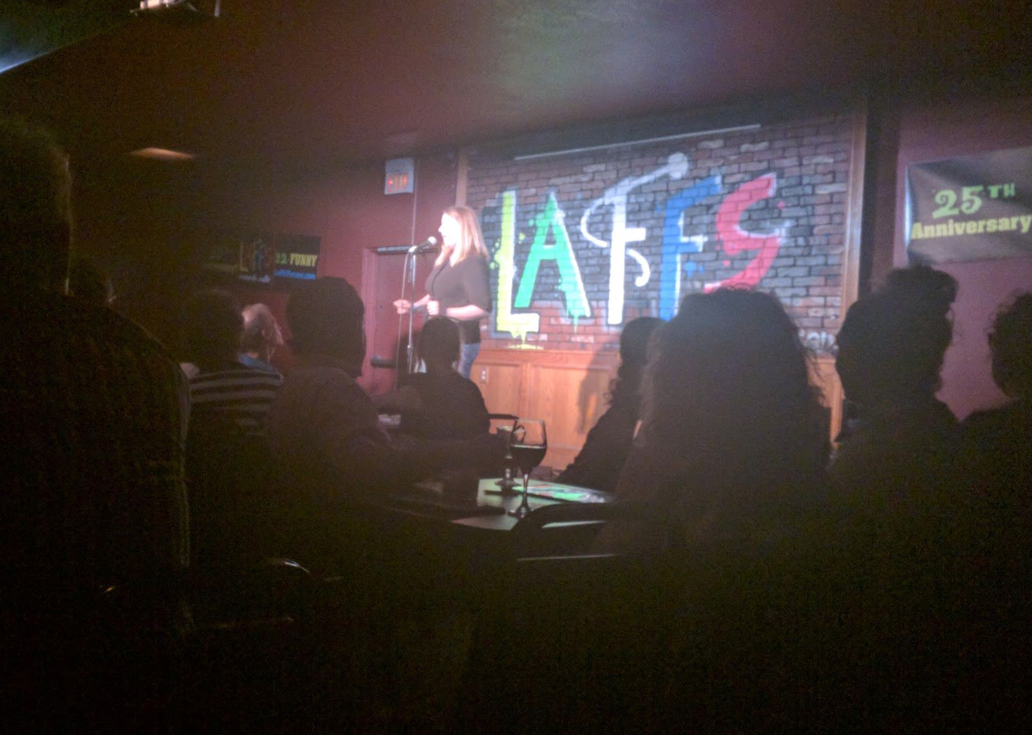 Stand-up showcase @ Laff's