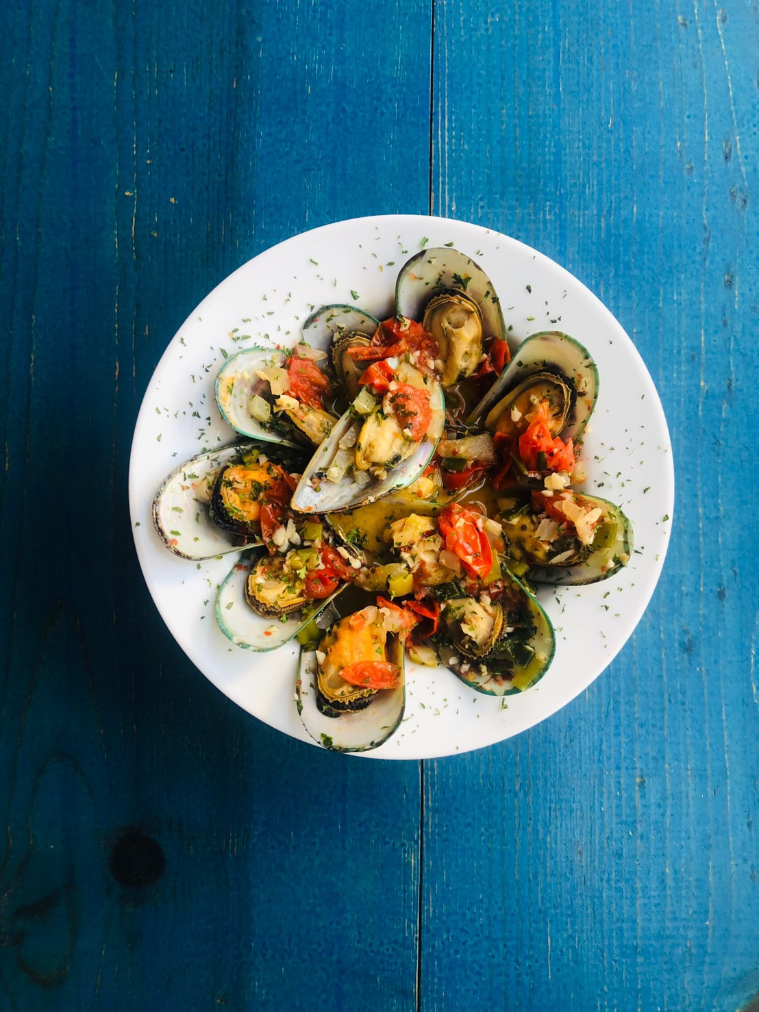 French Wine Mussels