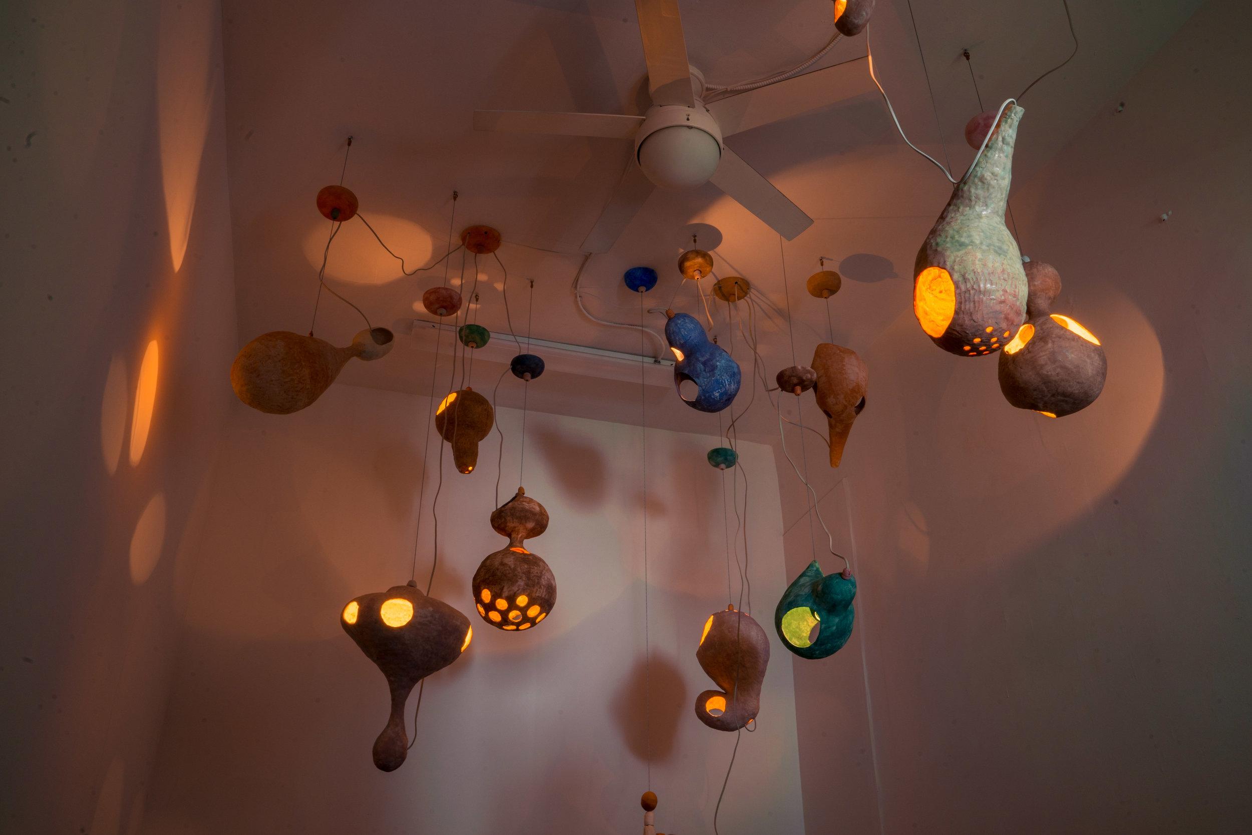 Yuko Nishikawa Creates Stunning Paper Lamps