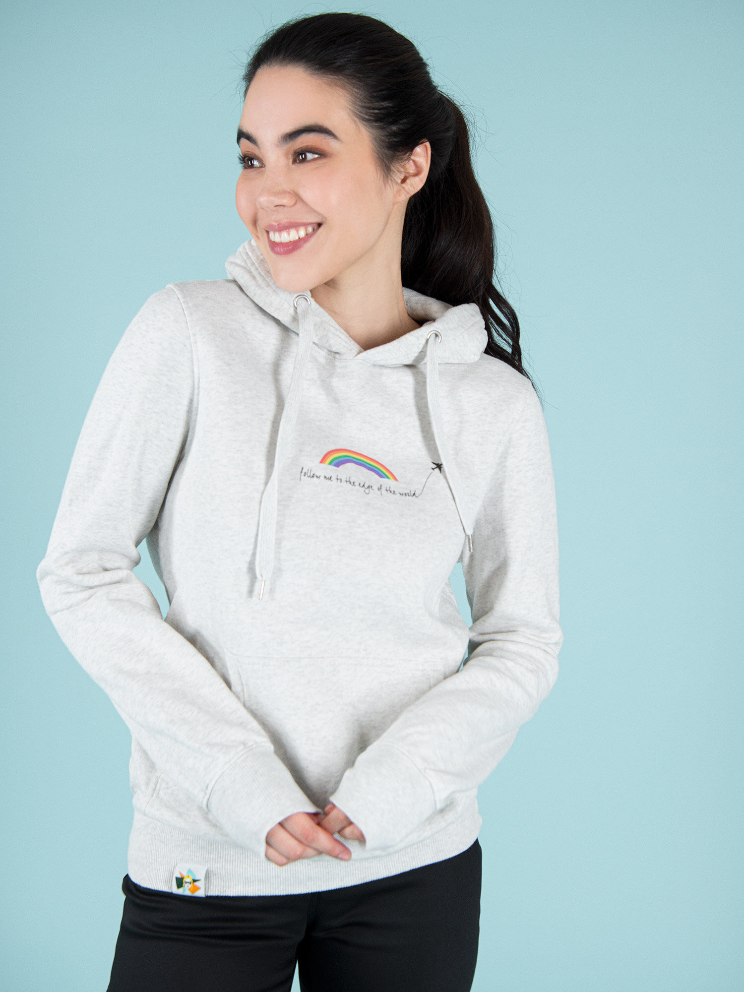 Follow Me Sustainable Hoodie, £98.-