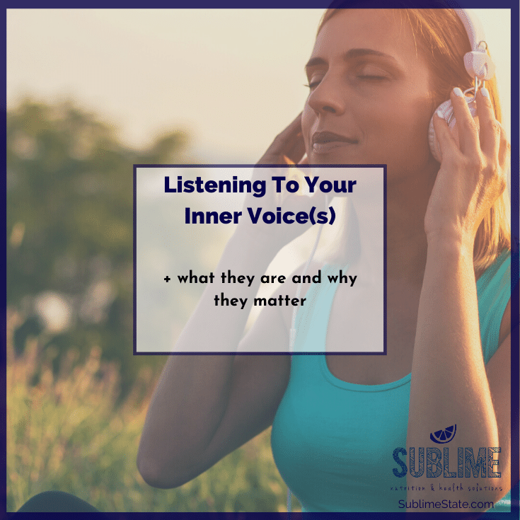 Listening To Your Inner Voice | Genevieve Chittick Tonin | Sublime State | Holistic Nutrition
