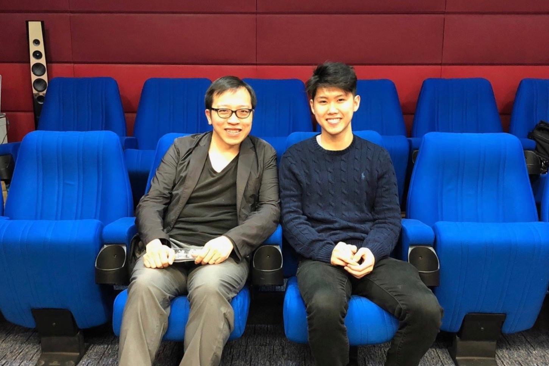 With Simon Li, Executive Director of Hong Kong Holocaust and Tolerance Centre