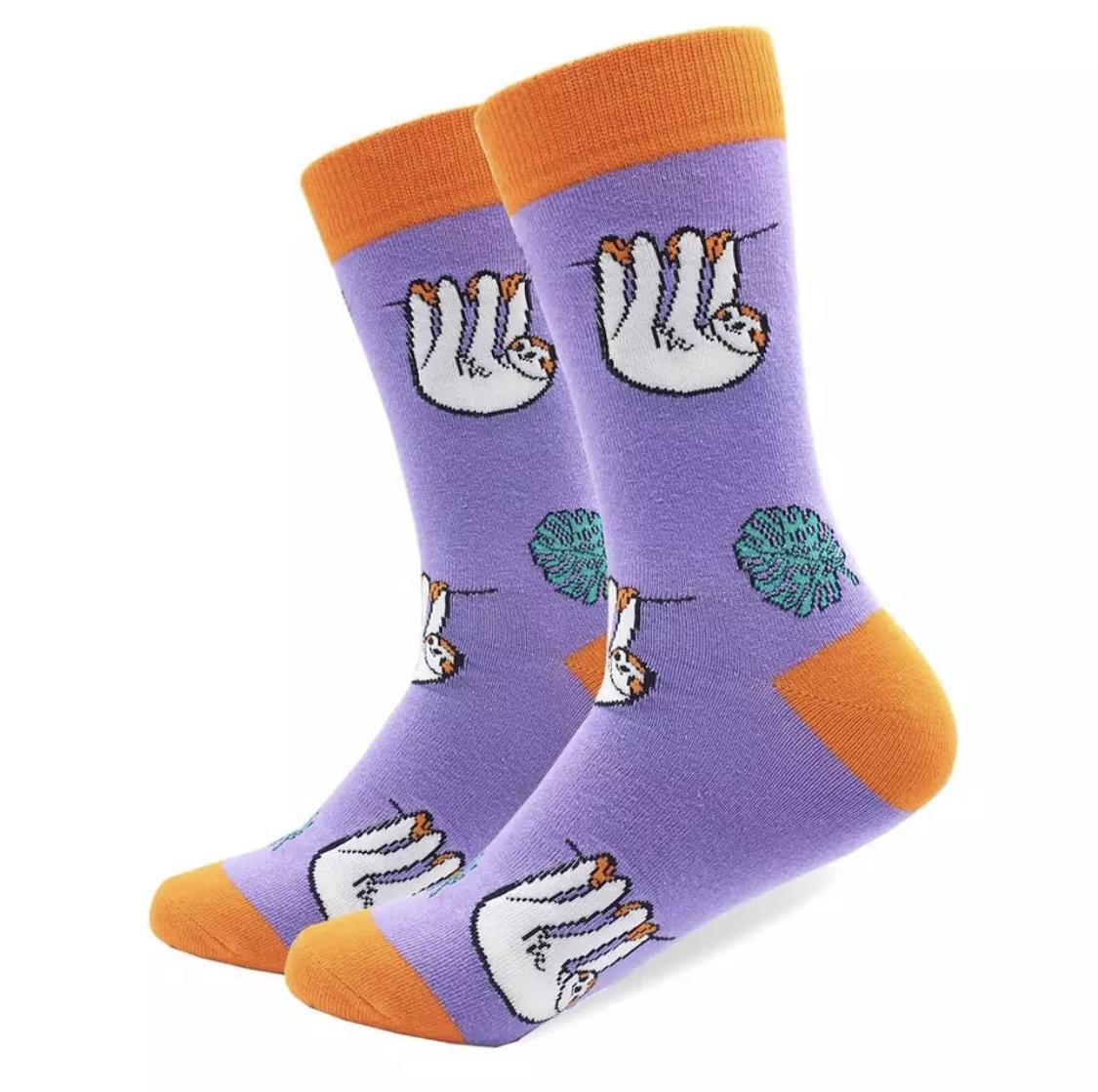 Sloth Funky Socks